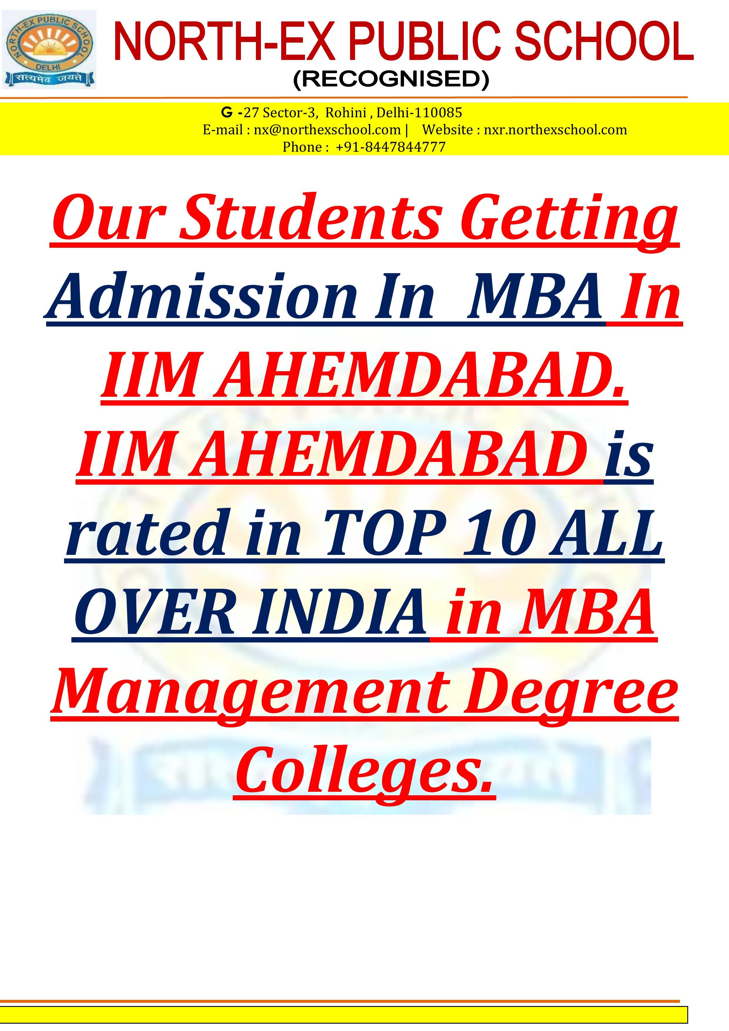 North-Ex Public School IIM - Indian Institute od Management (2)